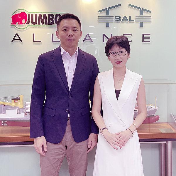 Mr. Sun Ming and Mrs. Tina Yi
