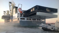 MV Svenja transports the North Deck for Burj Al Arab Hotel