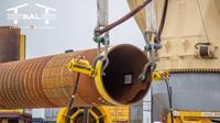 SAL Offshore: MV Lone, Pre-Piling Test for Wikinger Wind Farm